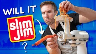 Can You Turn Spaghetti into a Slim Jim?