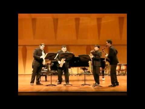 Tango Virtuoso - Amigo Saxophone Quartet