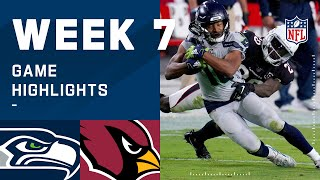 Seahawks vs. Cardinals Week 7 Highlights | NFL 2020