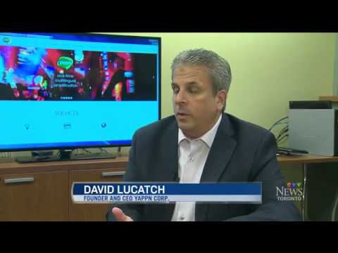 YAPPN CEO DAVID LUCATCH INTERVIEWED ON  CTV WEBMANIA JULY 4, 2015