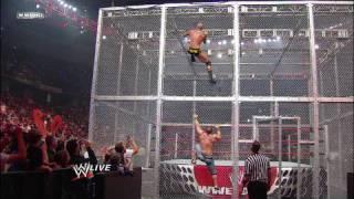 John Cena vs. Randy Orton, Big Show and Chris Jericho