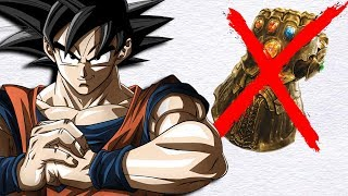 Why Goku Would NOT Help Thanos Complete The Infinity Gauntlet