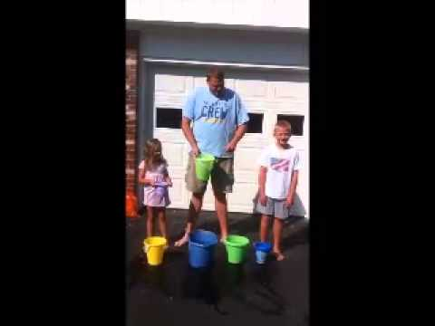 BayCoast Bank's Ryan Matteson of the Tiverton Branch takes the #ALSicebucketchallenge
