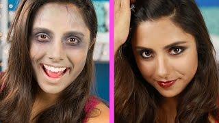 Zombie Contouring Makeup Tutorial (Parody)