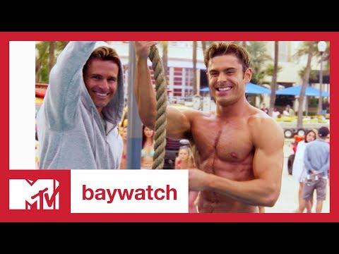 'Baywatch' Cast Roasts Zac Efron for 'High School Musical' | MTV News