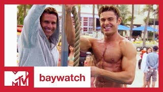 'Baywatch' Cast Roasts Zac Efron for 'High School Musical' | MTV News
