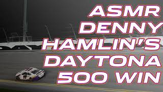 ASMR: Sounds from Denny Hamlin's Daytona 500 winning car