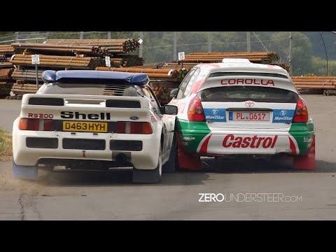 Eifel Rally Festival 2018   Pikes Peak & Group B Monsters & sideways action
