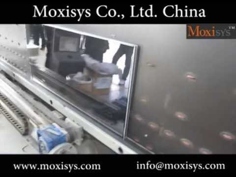 double glass robot sealing machine