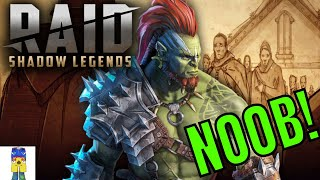 RAID SHADOW LEGENDS LIVE FROM START