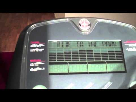 video Schwinn A40 Elliptical Trainer
