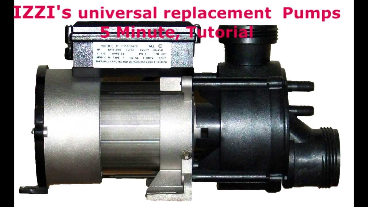 Whirlpool Tub Pump Replacement Youtube