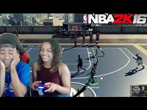 MY GIRLFRIEND PLAYING AT THE PARK PUNISHMENT!! |NBA 2K16 WORST PUNISHMENT EVER!!!