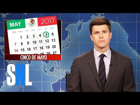 Weekend Update on Cinco de Mayo - SNL