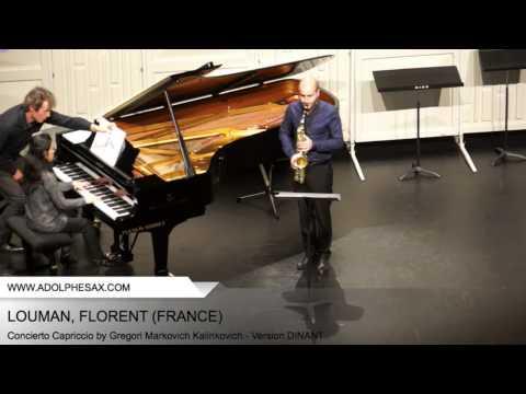 Dinant 2014 - Louman, Florent - Concerto Capriccio by Gregori Markovich Kalinkovich