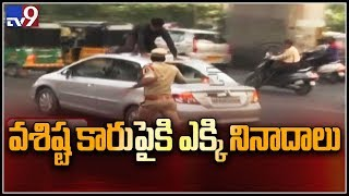Dowry Case: Vasishta car attacked by Sindhu Sharma relativ..