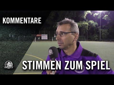 Die Stimmen zum Spiel (SSC Teutonia - BSV Eintracht Mahlsdorf, U17 B-Junioren, Landesliga, Staffel 2) | SPREEKICK.TV