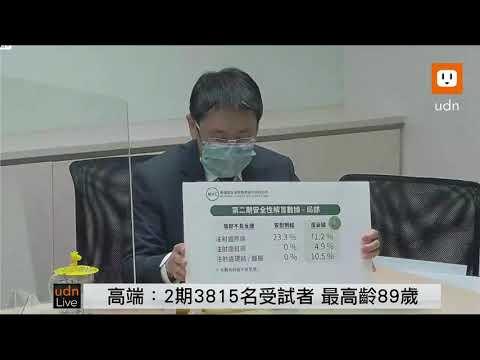 0610高端疫苗二期臨床試驗解盲說明記者會