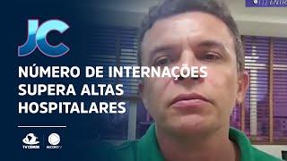 Número de internações supera altas hospitalares em rede privada de Fortaleza
