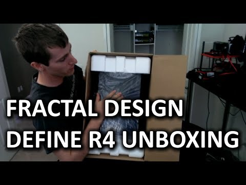 April Fools Joke: Fractal Design Define R4 Unboxing & Overview - Smashpipe Tech