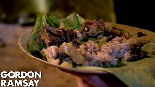 Gordon Ramsay Is Blown Away Tribe's Curry | Gordon's Great Escape