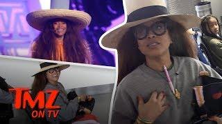 Erykah Badu's Got A Complicated Relationship With A TMZ Camera Guy | TMZ TV