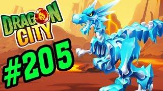 Dragon City Game Mobile - Verglas Dragon Bộ Xương Băng Ngàn Năm - Game Nông Trại Rồng #205