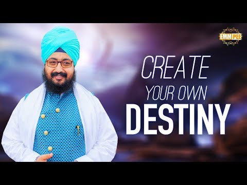 Create your own DESTINY | Full Diwan | Dhadrianwale