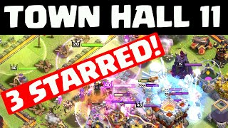 Clash of Clans Town Hall 11 THREE STAR ATTACKS! ♦ CoC ♦