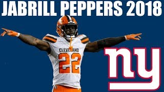 Jabrill Peppers Giants S 2018 Highlights