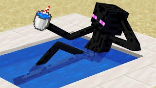Minecraft Mobs when you log off...