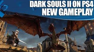 Dark Souls 2: New PS4 Gameplay 1080p 60fps