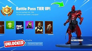 Buying All 100 Tiers in Fortnite Season 10 Battle Pass