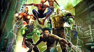 Marvel Nemesis: Rise of the Imperfects All Cutscenes (Game Movie) 1080p HD