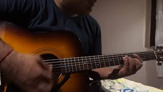 How to play Laila Laila from andhadhun in guitar