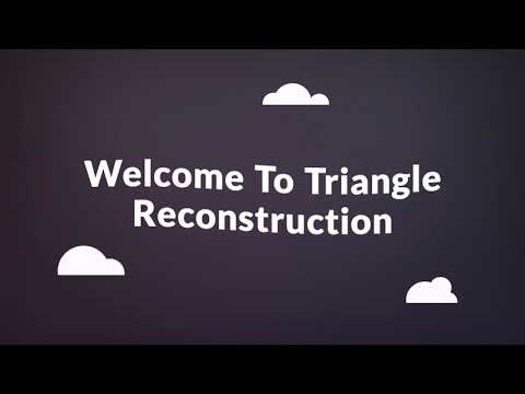 Triangle Reconstruction - Foundation Repair in Raleigh, NC