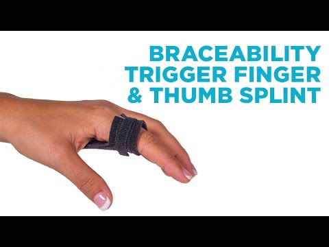 Trigger Finger & Thumb Splint | Home Treatment Solution to Fix Tenosynovitis Pain without Surgery
