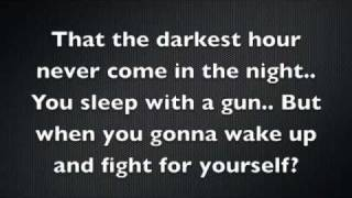 Shinedown - Sound of Madness, Lyrics