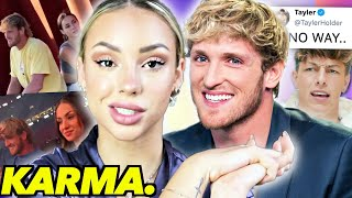 So Charly Jordan is DATING Logan Paul NOW?!...Tayler IS MAD!