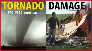 Tornado Damage Countdown: EF0 to EF5