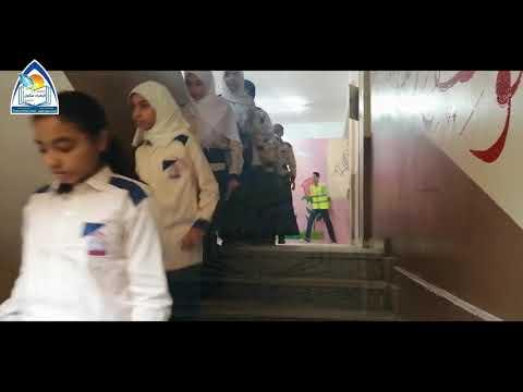 خطة اخلاء مدرسة الزهراء سكول - إدارة المرج التعليمية