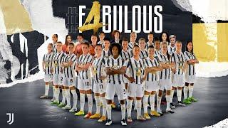 Juventus Women Win #F4BULOUS 4th Scudetto! | 2020/21 Women Serie A Champions
