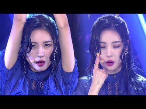 《SEXY》 SUNMI(선미) - Heroine(주인공) @인기가요 Inkigayo 20180128