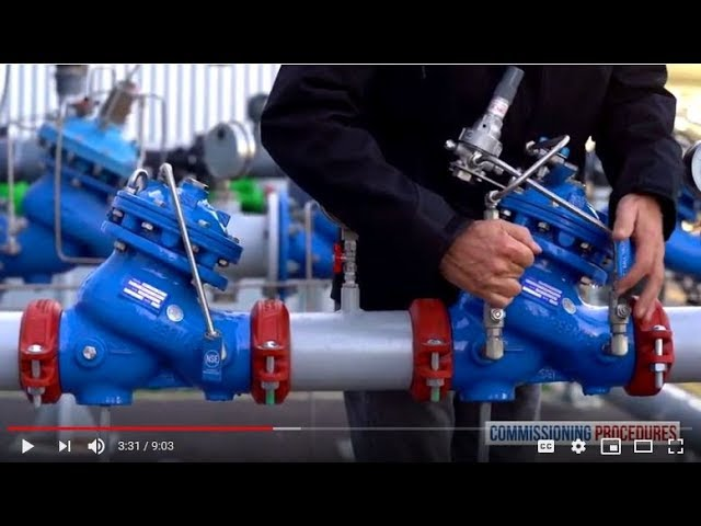 How to Commission and Calibrate a Two Stage Pressure Reducing Station 720-PD, 720