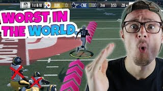 100% THE WORST PERSON IN MADDEN HISTORY AT... Madden 18 RTE ep.8