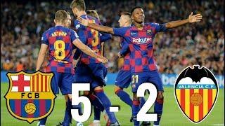 Barcelona vs Valencia [5-2], La Liga 2019/20 - MATCH REVIEW