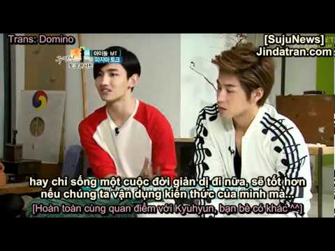[Vietsub] Full Ep 21 Joo Byung Jin Talk Concert with Super Junior, DBSK - P4 (END)