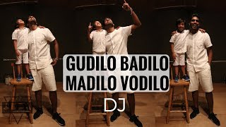 DJ Duvvada Jagannadham | DANCE | Gudilo Badilo Madilo Vodilo | Quick choreography @JeyaRaveendran