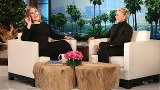 Adele – Interview on The Ellen Show