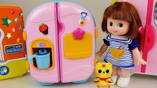 Baby Doll Refrigerator and food toys